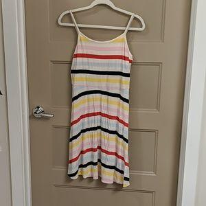 Kohl's SO Striped Keyhole Dress